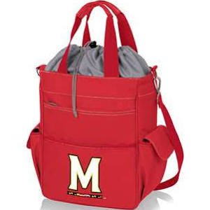 PICNIC TIME NCAA Maryland Terrapins Activo Digital Print Outdoor Product, One Size, Red