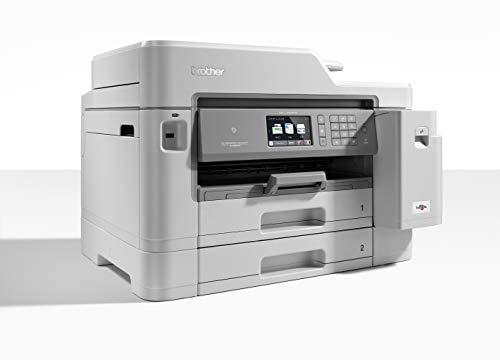 Brother MFC-J5945DW - Impresora multifunción de Tinta A4 (WiFi, fax, escáner, copiadora, dúplex automático) Color Gris