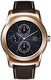 LG Watch Urbane Wearable Smart Watch - Pink Gold