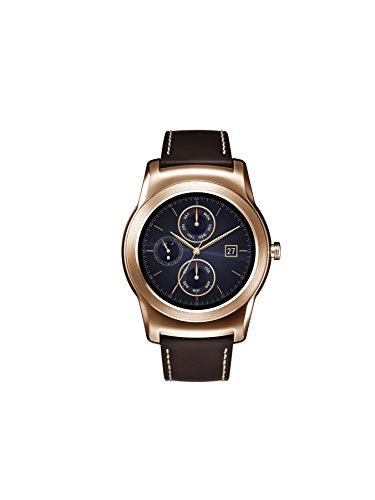 LG Watch Urbane Wearable Smart Watch - Pink Gold (Fitness Monitor Microsoft)