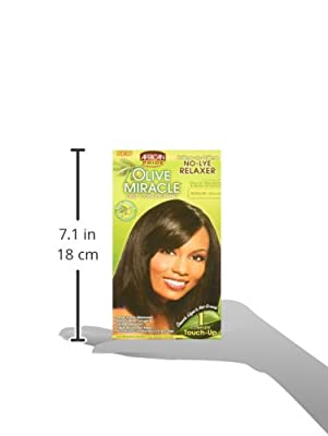 African Pride Olive Miracle Deep Conditioning No-lye Relaxer Kit