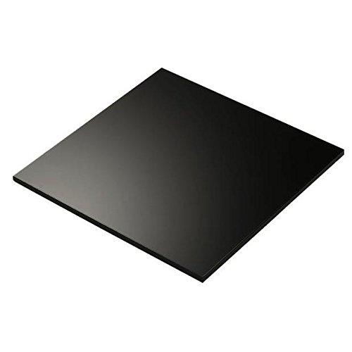 3mm Black Matt Foamex Foam PVC Sheet 13 SIZES TO CHOOSE (1220mm x 800mm) Sign Materials Direct