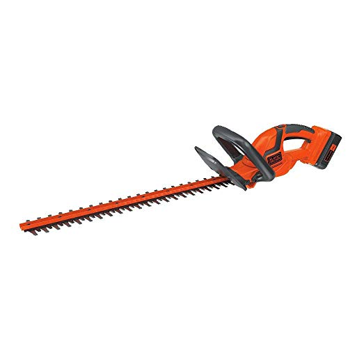 BLACK+DECKER LHT2240CFF 40V MAX Cordless Hedge Trimmer, 22″ (Renewed)