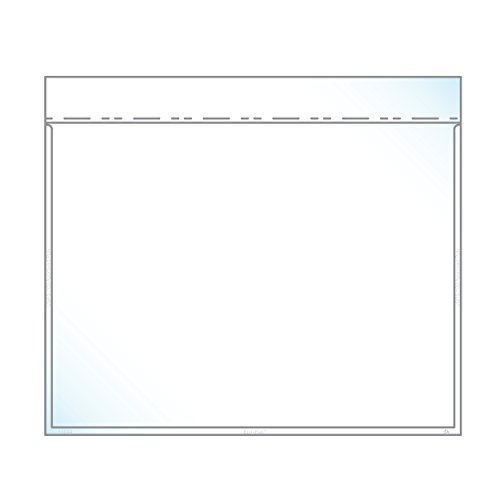 "Discount 9"" x 12"" Catalog Envelope Crystal Clear, Auto-Insertable (8.5"" x 11″ Insert Size) - Box of 500"