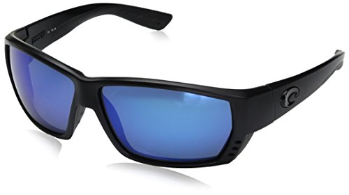 Costa Del Mar Tuna Alley Sunglasses Blackout/Blue Mirror - Tuna Alley