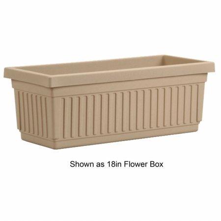 Myers Industries Inc Akrvnp30000a34 Akro 30 In  Venetian Flower Box Sandstone Color