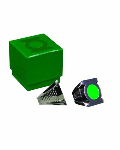 Dc Direct Green Lantern Ring - Green Lantern Honor Guard Ring Prop Replica
