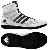 Adidas Mat Wizard Wrestling Shoes White/Black Size 4.5