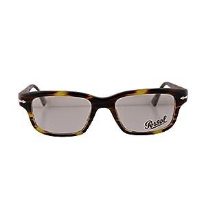 Persol PO3073V Film Noir Edition Eyeglasses 52-18-145 Green Striped Brown 938 PO3073 (FRAME ONLY)