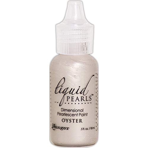 (Ranger Liquid Pearls Dimensional Pearlescent Paint .5oz-oyster)