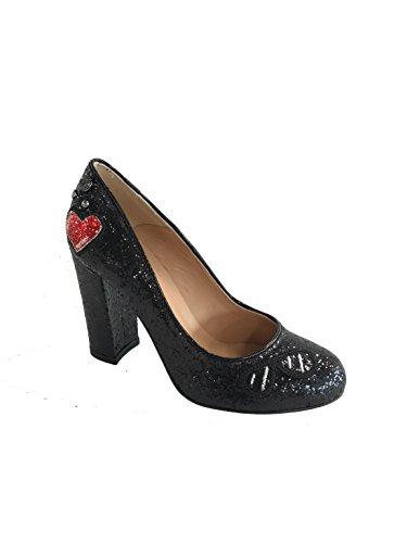 Love Noir Escarpins Noir Femme Moschino pour Fq8XxFw