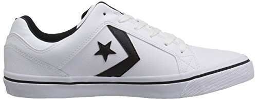 Top White Low 9 Leather Sneaker El Us Distrito 5 black white Converse M qw6IYg