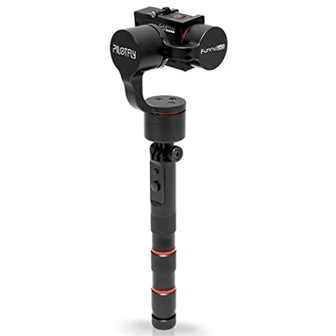 Pilotfly 000006 FunnyGO2 Handheld and Wearable 3-Axis Gimbal for GoPro with Bluetooth (Black) (Gopro Funnygo)