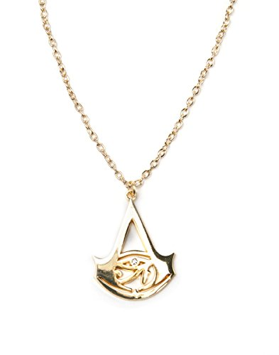 Assassin S Creed Necklace Creed Logo Gold Buy Online In Jersey