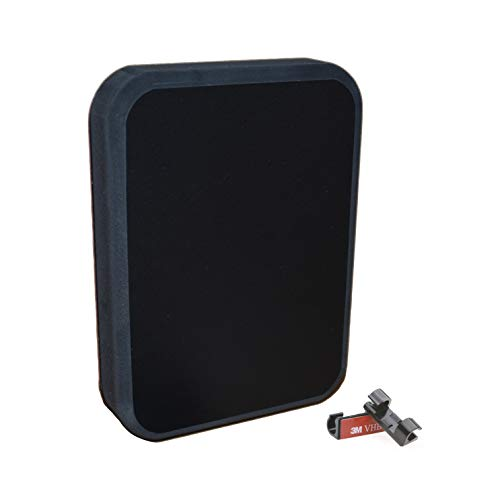 - Stern Pad Jumbo Black - Screwless Transducer/Acc. Mounting Kit (for Large 3D Scan Transducers)