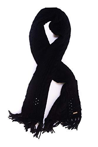 W's Woolrich Uni Serenity Donna Nero Sciarpa Da 7wS5wvq