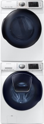 """Samsung WF50K7500AW 27"""" Energy Star Front-Load Washer, AddWa"""