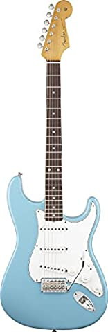 Fender Eric Johnson Stratocaster Rosewood Electric Guitar, Tropical Turquoise, Rosewood Fretboard - Eric Johnson Fender Strat