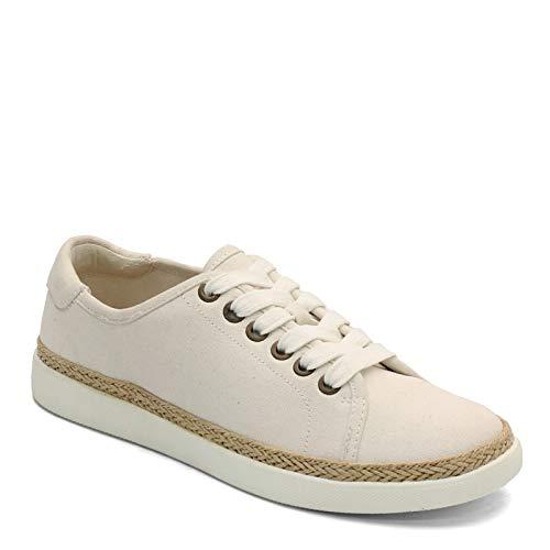 Vionic Women's, Hattie Sneaker Ivory 8 M