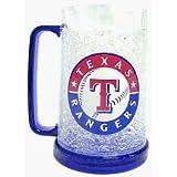 Texas Rangers MLB Crystal Freezer Mug by Duck House Sports