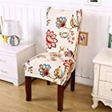 Chairwoman Underwrite - Removable Fashion Chair Cover Protector Seat Covering Hotel Ceremony Dining Decor - Spread President Encompass Professorship Blanket Electric Enshroud - 1PCs