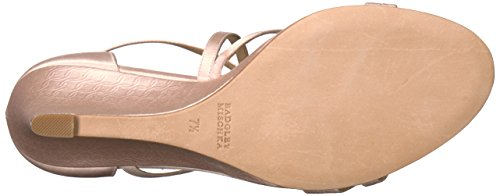 Badgley Sandal Light Mischka Women's Bonanza Wedge Pink rXIrHqxw4
