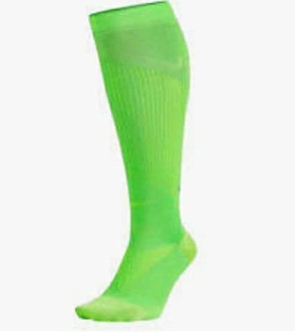 1998dfdd8 Image Unavailable. Image not available for. Color: Nike Unisex Elite  Graduated Compression OTC Over-The-Calf Running Socks ...