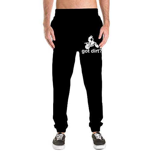 Nm45kL&KU Men Comfortable Sweatpant, 100% Cotton Got Dirt Bike Motocross Racing Sports Pants