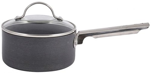 Thomas Hard Anodised Nonstick Saucepan with Lid 16cm