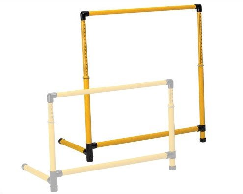 Prism Fitness Group Adjustable SMART Test Hurdle - Large - 26'' to 42.5'' by Ironcompany.com