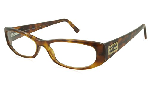 Fendi Rx Eyeglasses - F717R Havana / Frame only with demo - Fendi Eyeglass Women's Frames