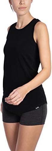 WOOLLY CLOTHING WOMEN'S MERINO WOOL CREW TANK - WICKING BREATHABLE ANTI-ODOR