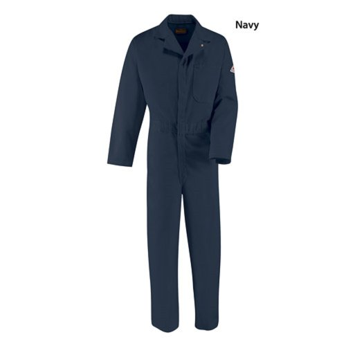 Bulwark Fire Resistant Classic Coverall Excel Fr Hrc2 38 Navy (Classic Coverall)