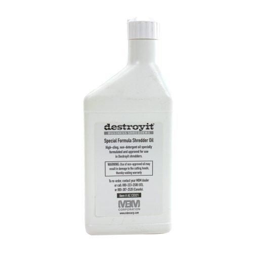 MBM DestroyIt Shredder Oil - 1 Pint Bottles (8pk)