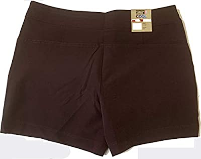 32 DEGREES Ladies Hiking Active Shorts Wine