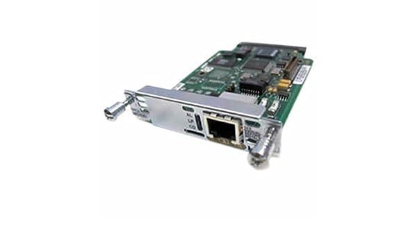 Cisco 1-Port T1//E1 Multiflex Trunk Voice//WAN Interface Card VWIC2-1MFT-T1//E1