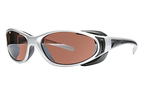 Libert Sport CHOPPER Sunglasses, Shiny ChromeFrame, Rose Amber Lens, - Sports Liberty Sunglasses