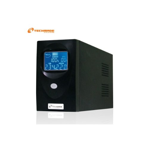 13 opinioni per Techmade PCA-650 650VA Compatta Nero gruppo di continuità (UPS)