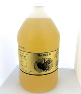 TRUFFLE OIL! Wholesale White Truffle Oil Bulk Size 1 Gallon by Beverly Hills Caviar