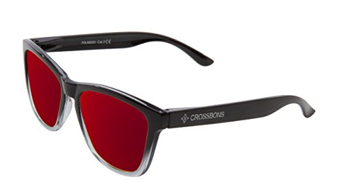 CALIFORNIA BLACK Crossbons Gafas Sol PL RED 1031 LIGHT de CRRL 7tPPFqZw