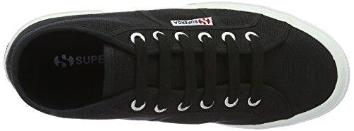 Altas Schwarz Unisex Adulto Zapatillas Superga 2754 white Cotu black qxnfPnR6