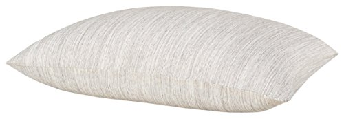Calvin Klein Home Modern Cotton Strata, King Pillowcase Pair, Sandwash, 2 Piece - Klein Bed Pillow