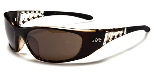 Sunglasses Replica Brown (X Loop Mens / Womens / Unisex Athletic Sport Designer Fashion Sunglasses with UV400 Lens - Available in Black / Clear / Brown / Red / Blue - Includes Custom Branded Microfiber Pouch & Cleaning Cloth)