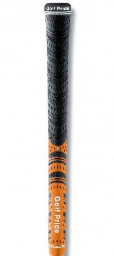 Golf Pride New Decade Multicompound Cord Orange .600 Round Grip Kit