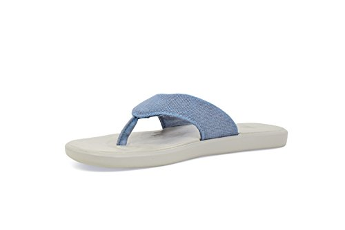SoftScience Skiff 2.0 Canvas Comfort Casual Unisex Shoes Light Blue M8/W10 BGQuffape4