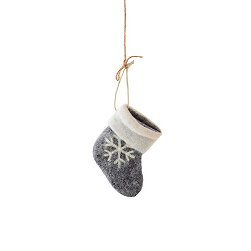 AKwell Christmas Tree Pendant Hanging Home Ornament Candy Bag Christmas Tree Ornament Santa Claus Snowman Sock Decor