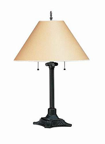 Cal Lighting BO-432-RU Two Light Table Lamp