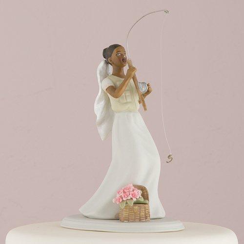 Gone Fishing Wedding Cake Topper (Weddingstar