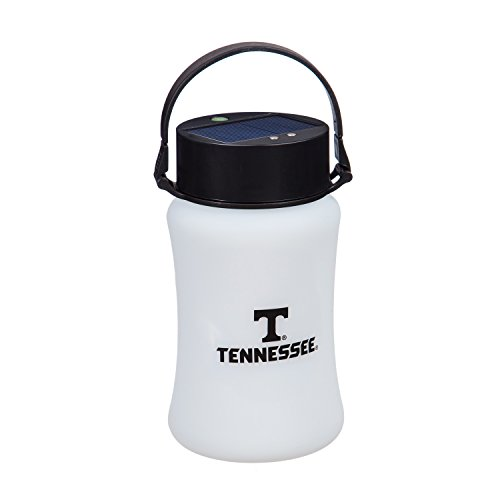 Team Sports America University of Tennessee Outdoor Safe Silicone Solar Powered Tailgate Lantern
