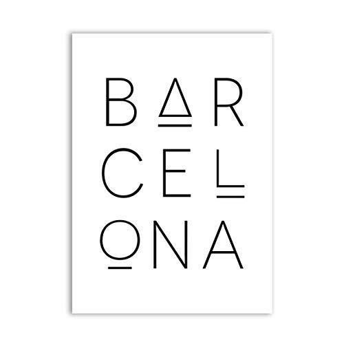 alicefen Sin Marco Barcelona Imprimir Mapa de la Ciudad ...